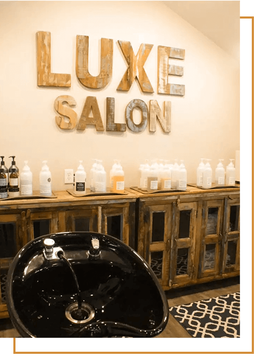 Luxe salon seating